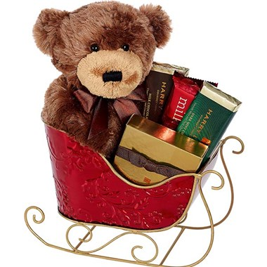 Beary Treats & More Sleigh for holiday gifts (BF362-11MG)
